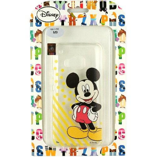 ~Disney~HTC ONE M9 微笑系列彩繪透明保護軟套◆ ^!黃色小鴨耳機塞◆
