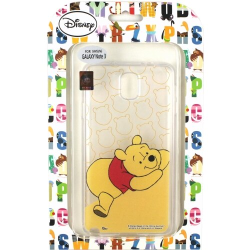 【Disney】Samsung Galaxy Note3 微笑系列彩繪透明保護軟套