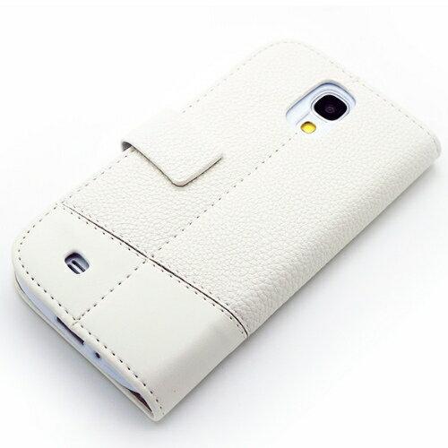 Redberry Samsung Galaxy S4 (I9500)  雙料縫線 側掀(立架式)皮套