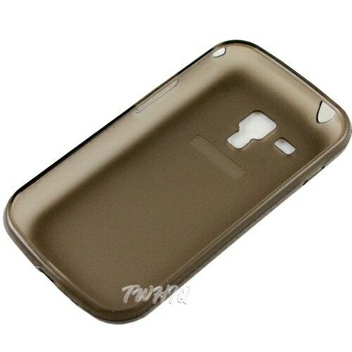Samsung S7562 Galaxy S Duos 專用清水套/保護殼/保護套/背蓋/背殼◆送很大!專用型螢幕保護貼◆