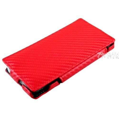 Sony Xperia Z (L36i) 動感卡夢紋 側掀(立架式)皮套