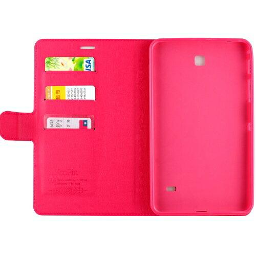 【福利品】KooPin Samsung Galaxy Tab 4 7.0 商務簡約系列 可立式皮套