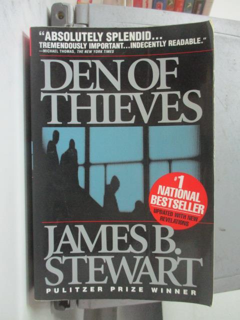 ~書寶 書T1/原文小說_NSW~Den of Thieves_JamesB.