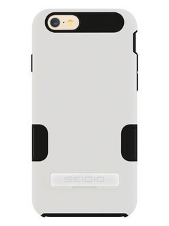 SEIDIO DILEX™ PRO 專業級雙層保護殼 for Apple iPhone6 4.7- 極簡白
