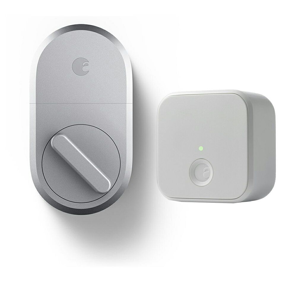 August Smart Lock 3rd Gen and Connect Wi-Fi Bridge for Smart Home Remote Access 0