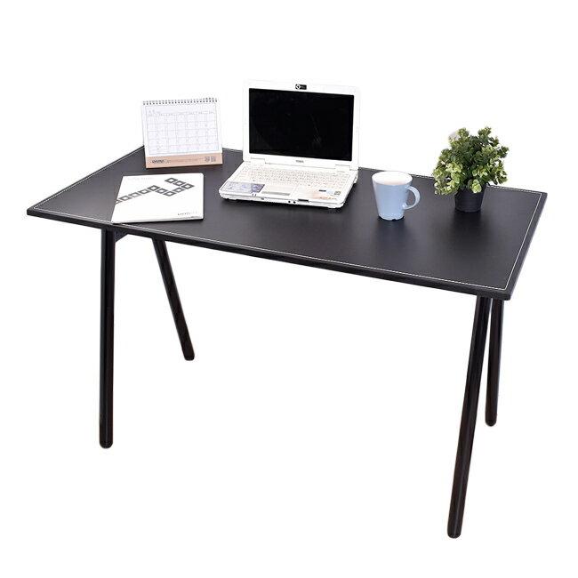 桌子 / 書桌 / 電腦桌  馬鞍工作桌電腦桌(附電線孔蓋) 【B15046】凱堡家居 1