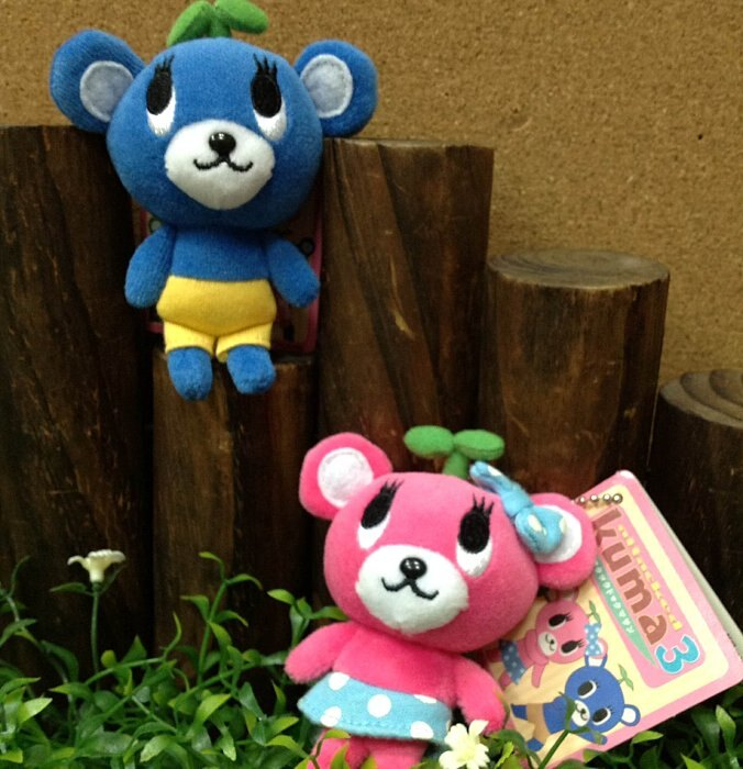 =優 =  kuma3 藍熊 粉熊吊飾 熊熊娃娃 婚禮小物 大量訂購