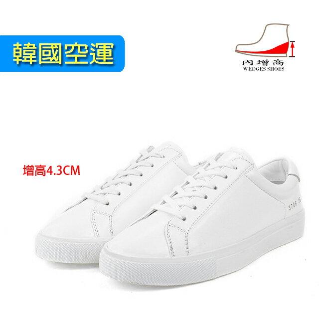 小白鞋 [與你時尚]韓國2016新款楊冪同款 綁帶 休閒鞋 運動鞋 內增高鞋