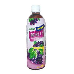 波蜜 葡萄汁飲料 580ml