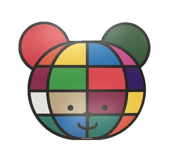 ART-ZOO特展滑鼠墊-彩色熊款