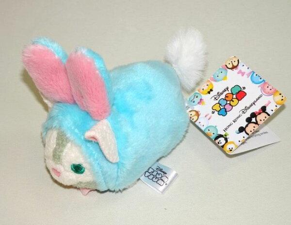 X射線【C619004】香港迪士尼代購-復活節限定GelatoniTusmTusm娃娃,絨毛填充玩偶玩具公仔靠墊抱枕靠枕