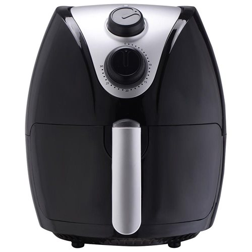 Costway 1500W Electric Air Fryer Cooker with Rapid Air Circulation System Low-Fat Black 2