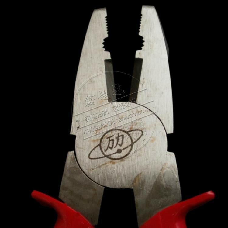 ☎北京萬力鋼絲鉗8寸萬力剪絲鉗子電工防滑手柄老虎鉗尖嘴鉗斜口鉗 全館八八折