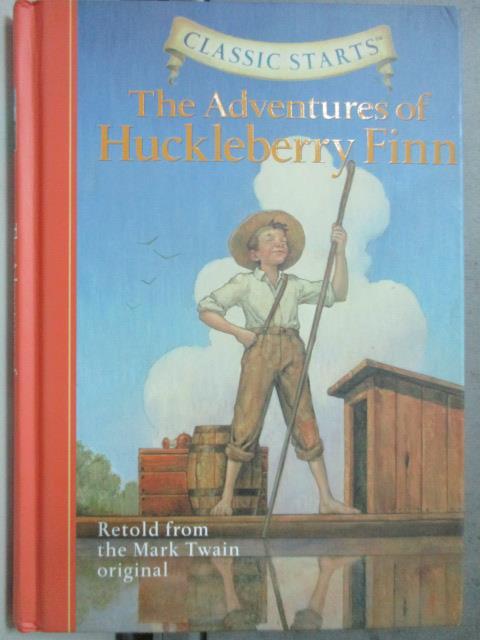【書寶二手書T6/原文小說_HOE】The Adventures of Huckleberry Finn_Twain,
