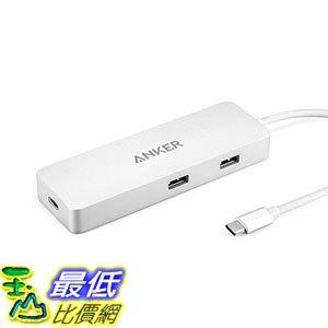 [107美國直購] 集線器 Anker AK-A8302041 Premium USB-C Hub with Ethernet and Power Delivery, with 2 USB 3.1 G
