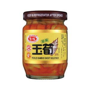 愛之味 珍保玉筍 玻璃罐 120g