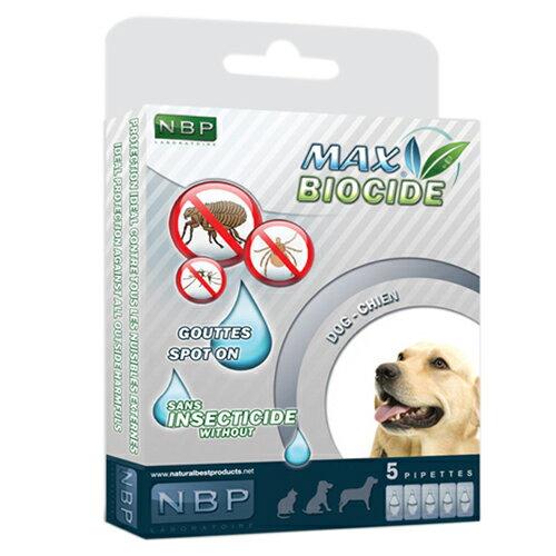 《西班牙NBP》全天然犬用滴劑(5劑入)香茅精油 / 避免蟲蚤 / 天然成分 / 安全無毒