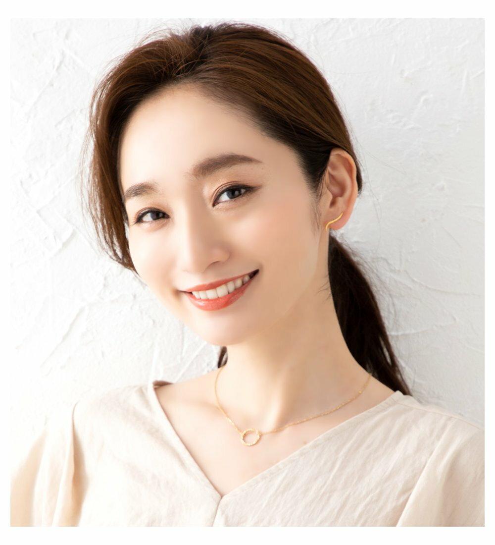 日本Cream Dot  /  經典流線型穿孔耳環  /  p00002  /  日本必買 日本樂天代購  /  件件含運 6