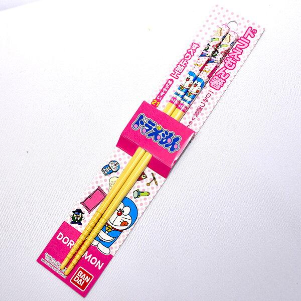 NOBA 不只是禮品:哆啦A夢天然竹筷子日本製BANDAI正版品DORAEMON