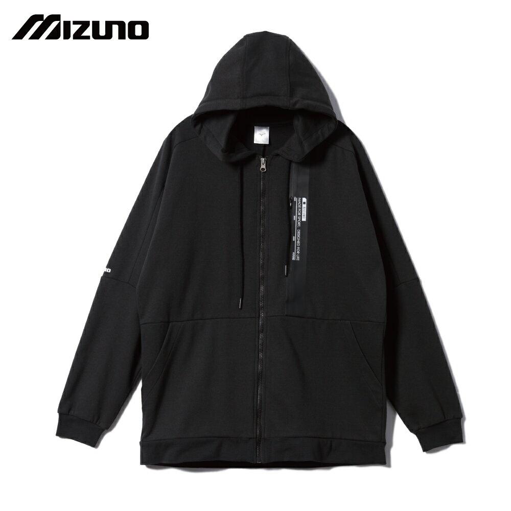 MIZUNO SPORTS STYLE 男款針織外套 D2TC003109(黑)【美津濃MIZUNO】