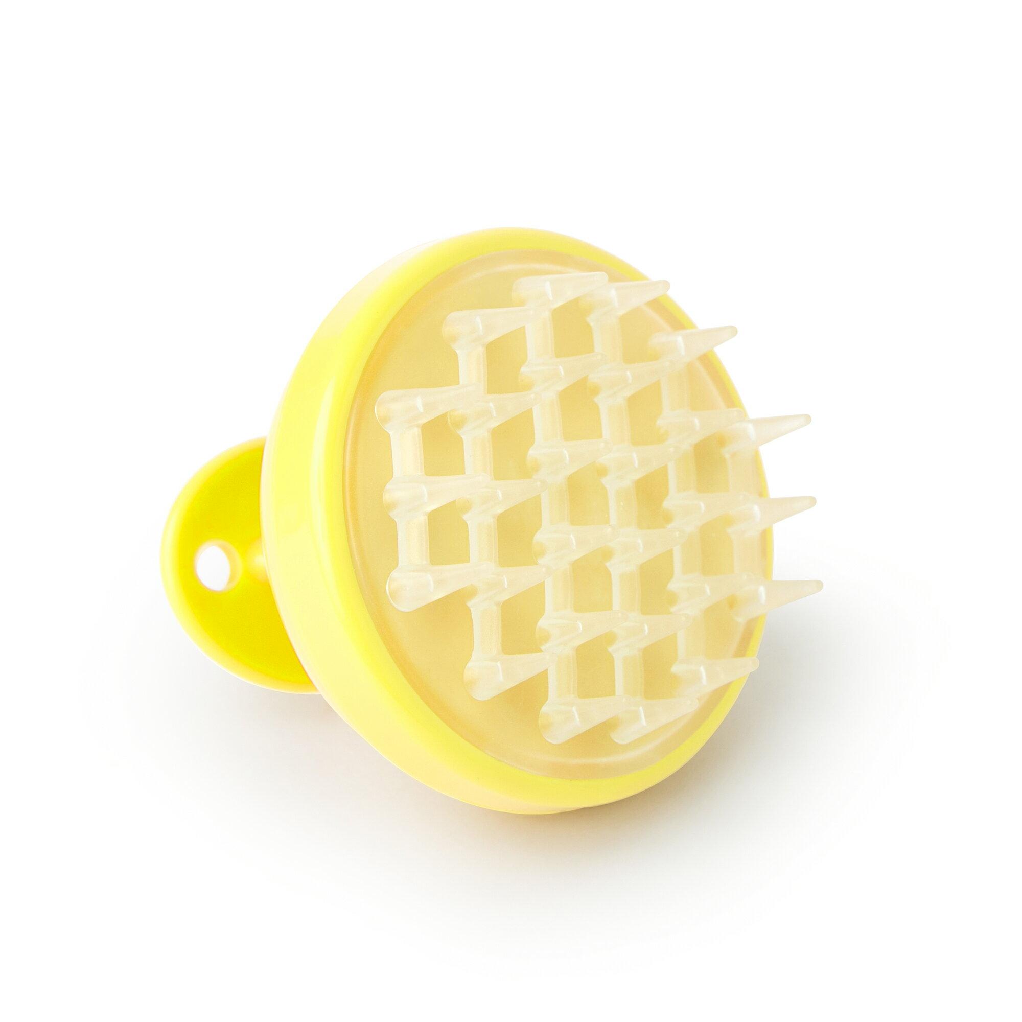 Vanity Planet Groove Vibrating Scalp Massager - Hello Yellow 0