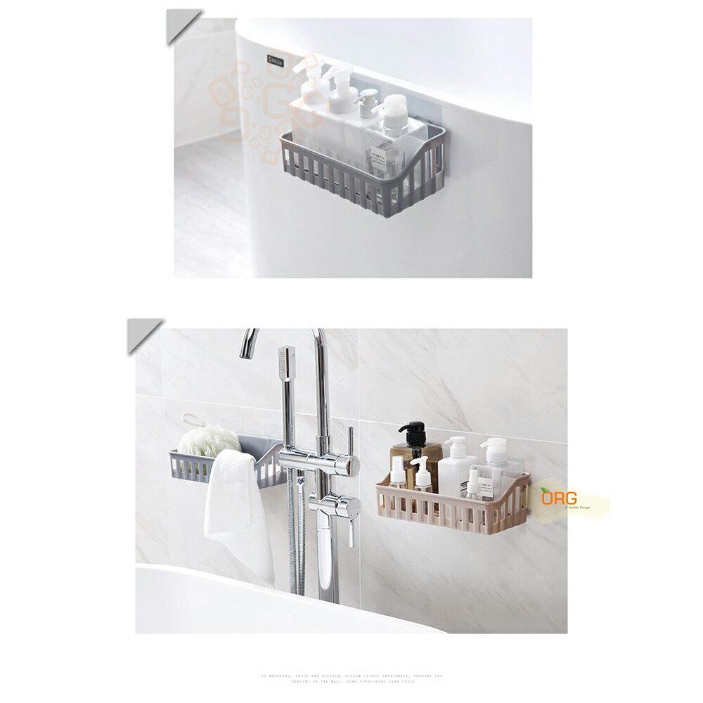 ORG《SD1536》無痕免打孔~底部瀝水 收納架 置物架 收納盒 置物盒 浴室 / 衛浴 廚房 瀝水架 瀝水籃 收納籃 5