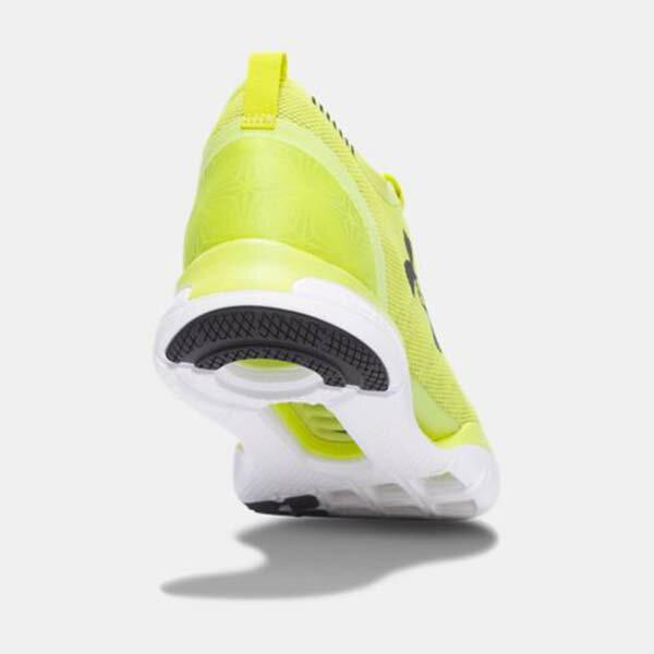 《下殺5折》Shoestw【1285666-772】UNDER ARMOUR Charged CoolSwitch 慢跑鞋 透氣網布 螢光黃 男生 3