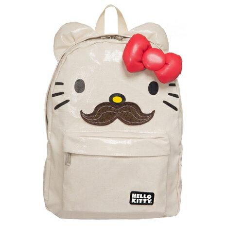 Hello Kitty 後背包 艾薇兒聯名款-翹鬍子