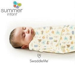 美國Summer Infant SwaddleMe懶人育兒包巾/童趣森林 純棉M號【六甲媽咪】