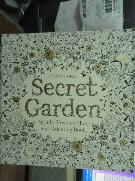 ~書寶 書T2/原文書_PLY~Secret Garden: An Inky Treasu