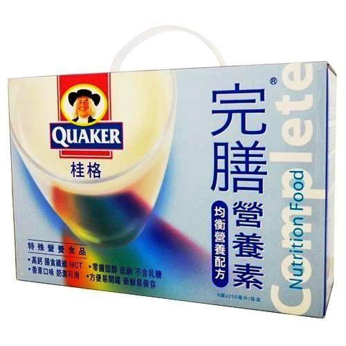桂格-完膳營養素香草配方禮盒250ml*6入