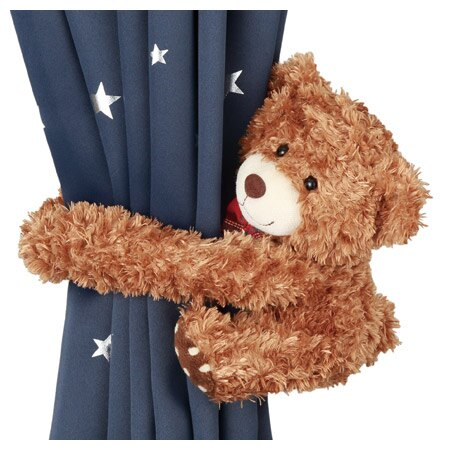 動物窗簾束帶 熊