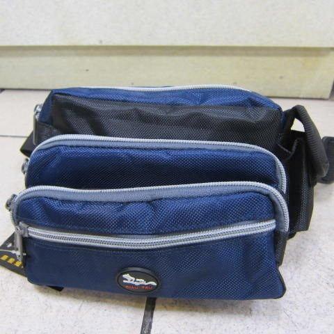 ^~雪黛屋^~DIAU~TSU 腰包 隨身貼身腰包 防水尼龍布  休閒 工作皆 重要物品^