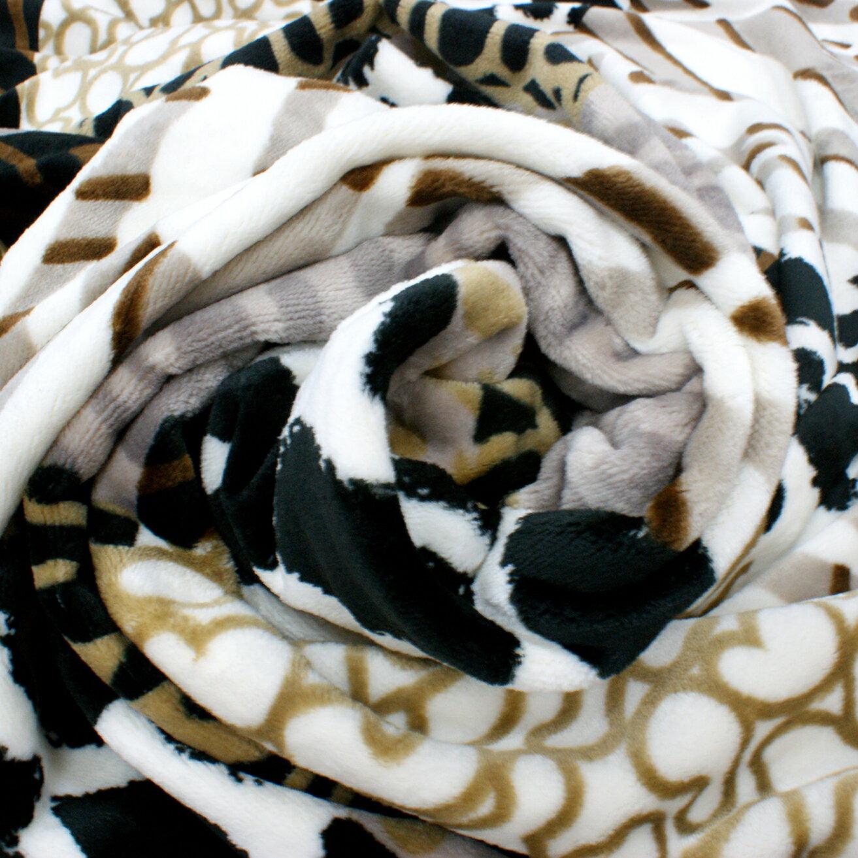 Royal Duck 翡翠絨加大毯 非洲風情 HU8002 4