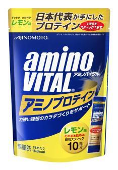 ~橘町五丁目~amino VITAL胺基酸乳清蛋白 檸檬口味~4.3g ^~ 10包入~~