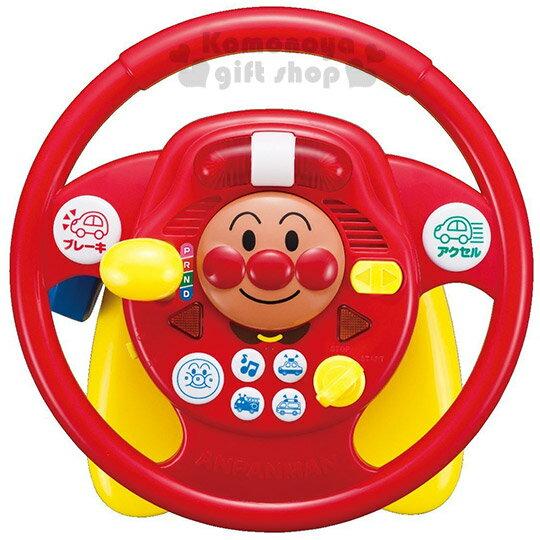 〔小禮堂嬰幼館〕麵包超人 方向盤玩具《紅.大臉.橘盒裝》適合2歲以上