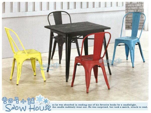 ╭☆雪之屋居家生活館☆╯R585-07/08/09/10 工業風餐椅(鐵腳/坐鐵面)/造型椅/會客椅/北歐風情