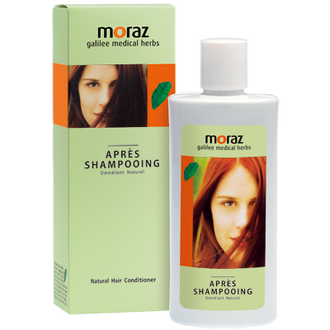 【MORAZ 茉娜姿】草本修護潤髮乳250ml,買就送蔓越莓私密潔護露3ml