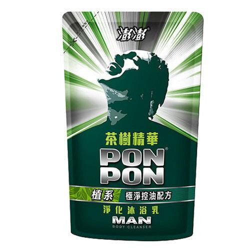 澎澎MAN 茶樹精油 淨化沐浴乳 補充包 700g 【售完為止】