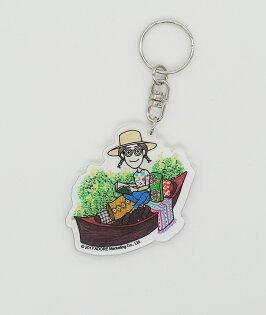 做你的白日夢特展軋型鑰匙圈-Dorothy精選插畫款