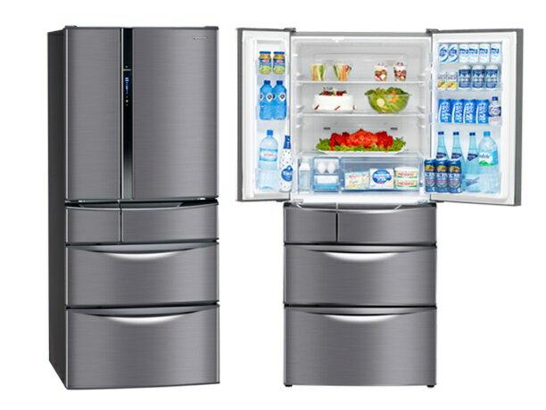 Panasonic 國際 560L 六門 變頻電冰箱 NR-F567MV  【零利率】※熱線07-7428010