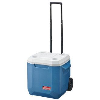 【露營趣】中和安坑 送贈品 Coleman CM-02115 37L XTREME拖輪冰箱 冰桶 4日鮮