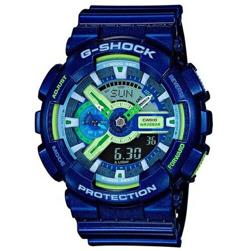 CASIO/G-SHOCK超人氣雙顯立體運動腕錶/GA-110MC-2A