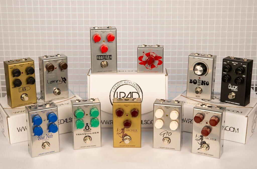 【非凡樂器】J.RAD  ARCHER OVERDRIVE 失真效果器/美國製手工品牌/J.Rockett Audio Designs/贈導線