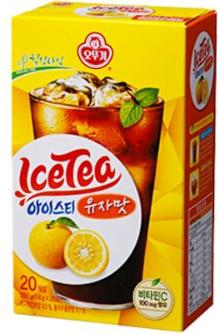 【韓新館】奧多吉 柚子風味冰紅茶粉