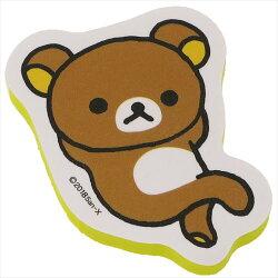 大賀屋 拉拉熊 指甲 拋光 海棉 指甲銼刀 附 收納袋 吊飾 懶懶熊 輕鬆熊 San-X 日貨 正版 J00012068