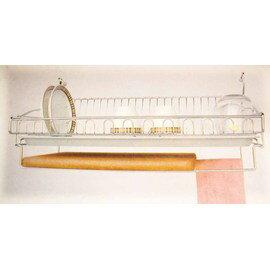 不鏽鋼掛式碗盤架覘板架 廚衛兩用