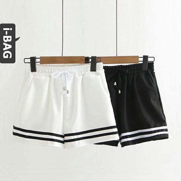 B.A.G*現+預*【PA1570】海軍風條紋短褲衣(現+預)-2色