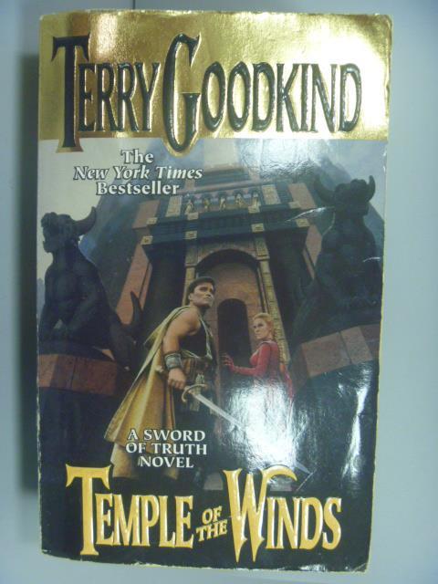 【書寶二手書T1/原文小說_NBA】Temple of the Winds_Terry Goodkind