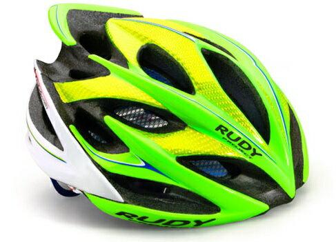 【7號公園自行車】RUDY PROJECT WINDMAX 頂級自行車安全帽(綠黃白)